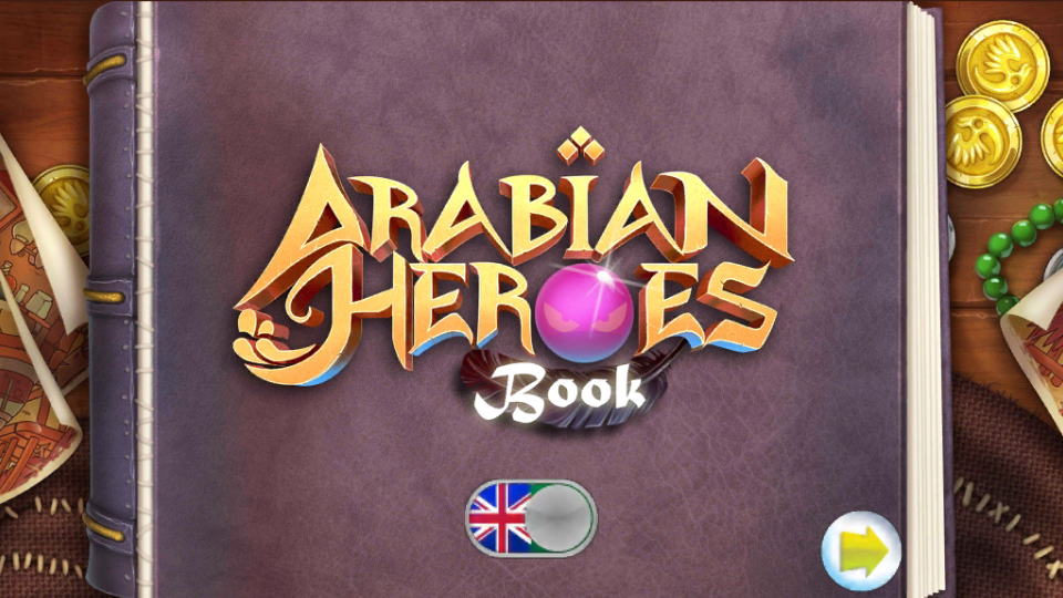 Arabian Heroes Book